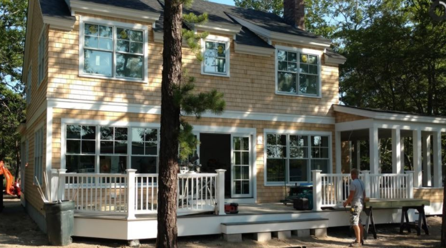 Tear Down House Build New Home Goose Rocks Kennebunkport Maine