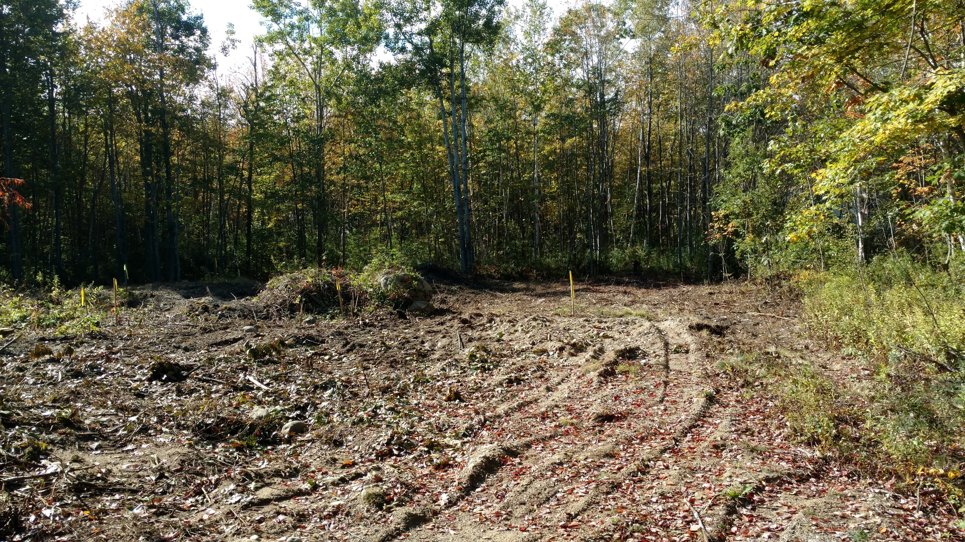 House Project Includes Lot Clearing in Kennebunk, Maine
