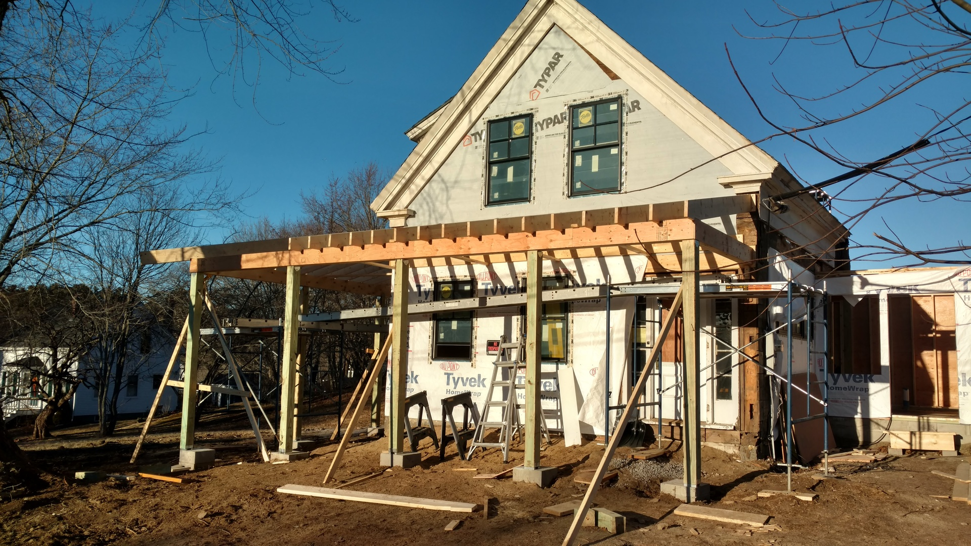 Home Remodel High Street Kennebunkport Maine