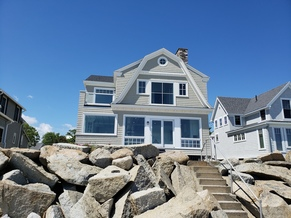 Total Remodel of Kennebunkport Maine Beachside Home
